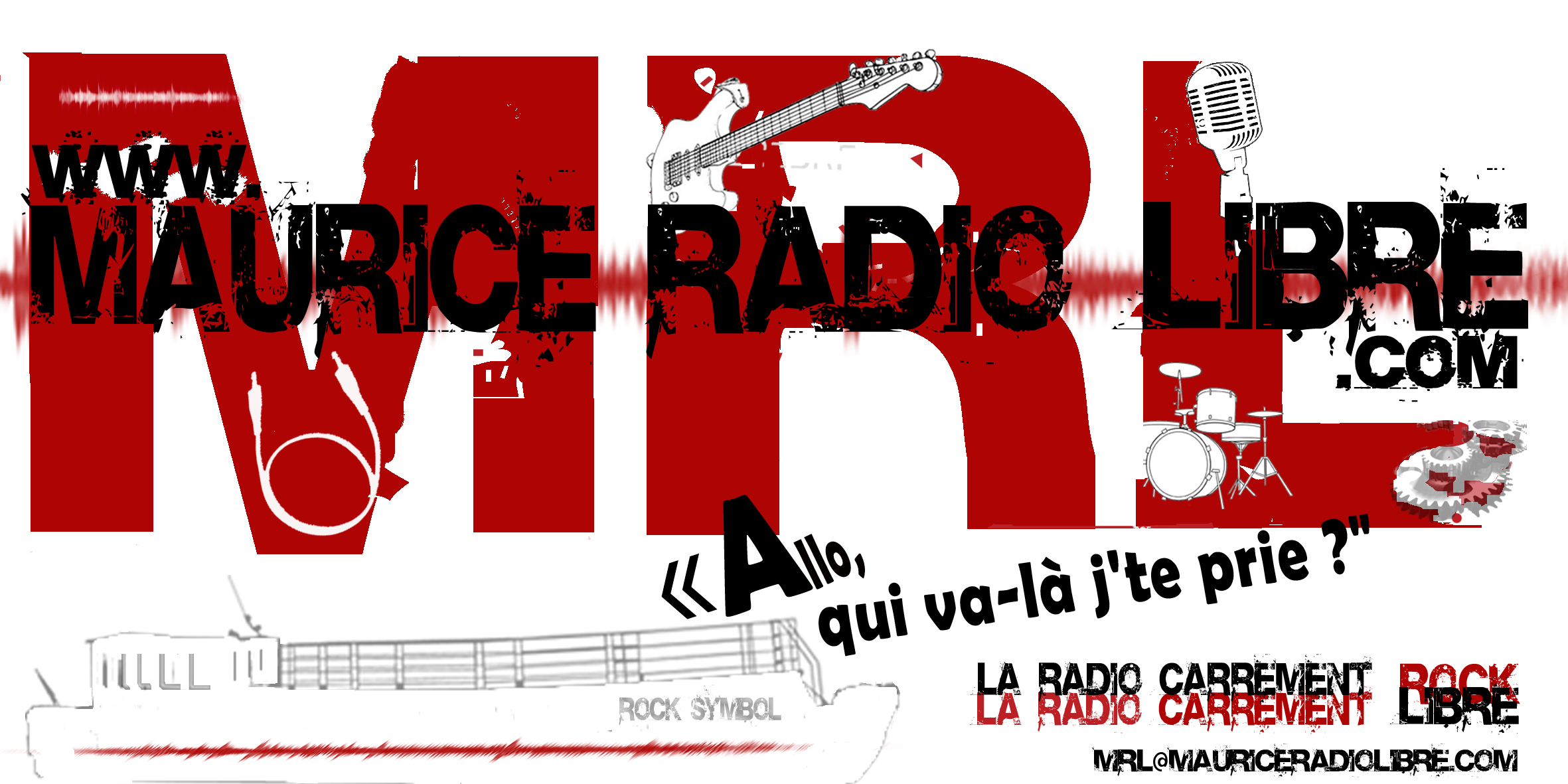 Maurice Radio Libre, l'émission, l'univers de Maurice, la radio rock digitale