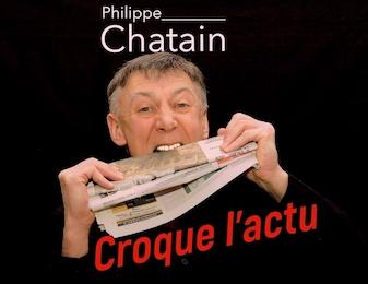 pad chronique Chatain Croque L'Actu pour radio ou webradio