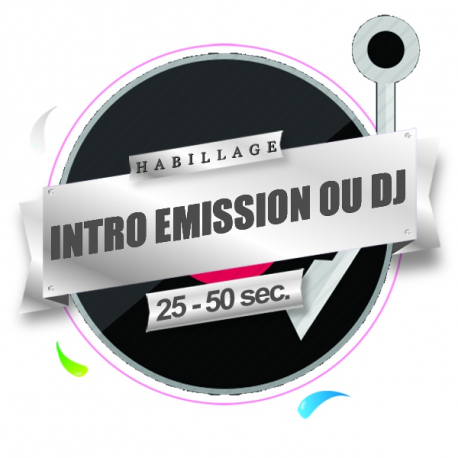 production audio pro jingle introduction emission, podcast, dj. Habillage radio et webradio
