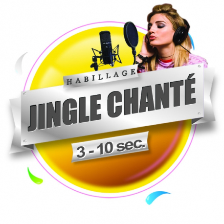 production audio pro jingle chanté habillage radio et webradio