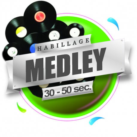 production audio pro medley habillage radio et webradio