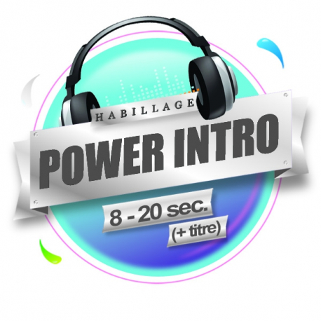 production audio pro power intro habillage radio et webradio