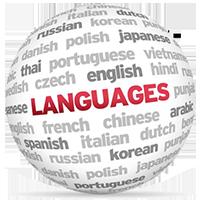 Panneau de controle WebTv en plusieurs langues